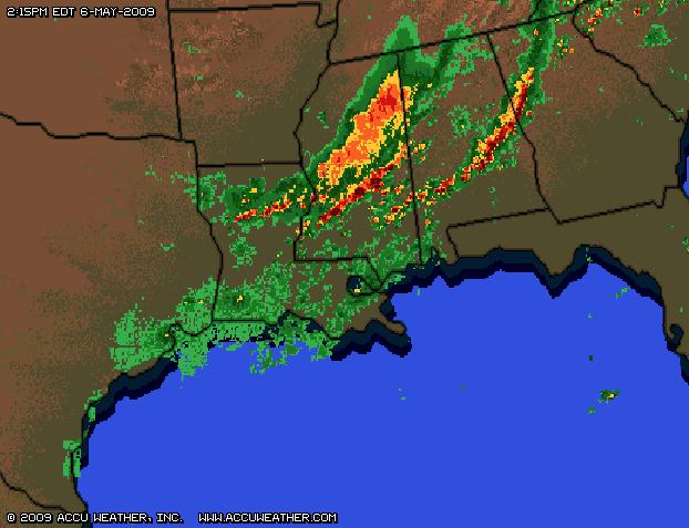 Weather Radar Southeast Region Tallahassee Fl