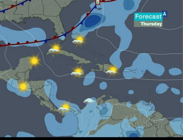 Caribbean Weather Map Forecast.Cnn Com Weather