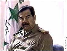 Saddam Hussein, says President Bush, is 