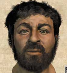 This image of what Jesus may have looked like is on the cover of Popular Mechanics this month.