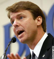 Sen. John Edwards, a Democrat from North Carolina, was elected to the Senate in 1998.