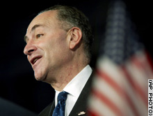 Sen. Charles Schumer of New York is one of several Democrats calling on the president to focus on domestic matters.