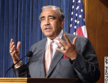 Rangel: 'Let all of America say we're sharing  the sacrifice.'