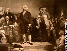 George Washington delivered the State of the Union message aloud.