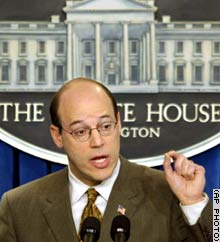 White House spokesman Ari Fleischer