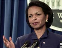 Rice: Iraq can do very little now to avoid confrontation.