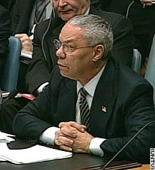 Secretary of State Colin Powell says Iraq's