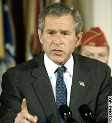 President Bush named Thomas Kean as chairman of the commission after Henry Kissinger resigned the post.