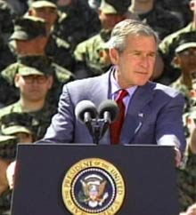 President Bush: