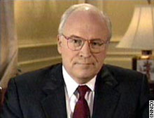 A spokeswoman for Vice President Dick Cheney says he has nothing to do with contracts awarded to Halliburton.