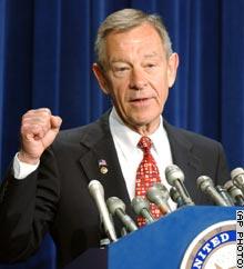 Sen. George Voinovich, R-Ohio