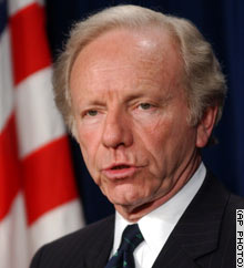 Sen. Joe Lieberman is leading the Democratic field in South Carolina, according to a recent poll.
