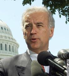 Sen. Joseph Biden, D-Delaware