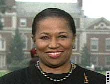 Presidential candidate Carol Moseley Braun