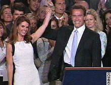 Arnold Schwarzenegger's victory in California has implications for the 2004 presidential race.