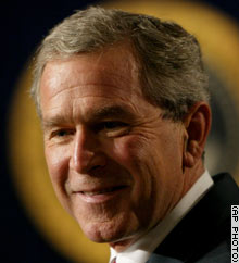 President Bush is on his way to raising between $150 million and $170 million for next year's primary.