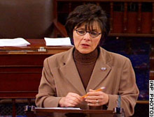 Sen. Barbara Boxer, D-California, an opponent of the legislation, said the vote represented a