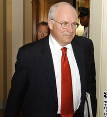 Vice President Dick Cheney has said he has no financial stake in Halliburton's future.