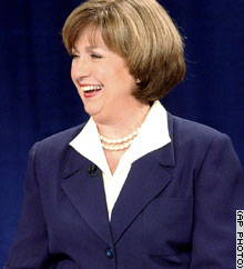 Louisiana Lt. Gov. Kathleen Blanco, a Democrat, faces Republican Bobby Jindal in the November 15 runoff for governor.