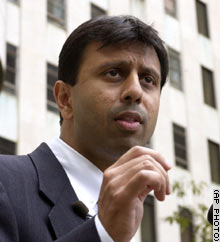 Louisiana Republican gubernatorial candidate Bobby Jindal came in first in the October open primary with 33 percent of the vote.