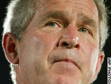 The RNC's 30-second campaign ad praises President Bush's leadership in the war on terror.