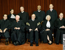 The U.S. Supreme Court justices