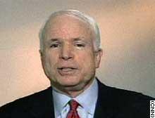 Sen. John McCain, R-Arizona