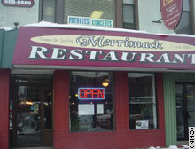 Merrimack Restaurant in Manchester, New Hampshire, has attracted presidential candidates for years.