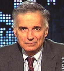 Ralph Nader is seen here in a file photograph from an appearance on CNN's