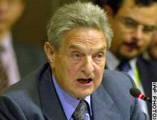 George Soros has pledged millions to independent groups,