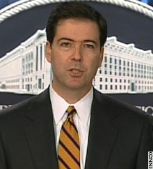 Deputy U.S. Attorney General James Comey