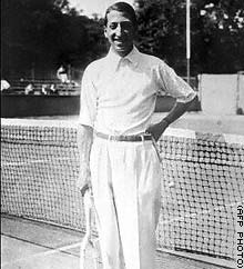 Tennis legend Rene Lacoste won Wimbledon and the U.S. championships twice.