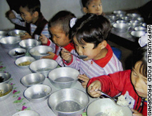 North Korea relies heavily on overseas food aid to feed its population.