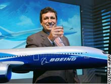 Boeing's new 'Dreamliner' is due to enter airline service in 2008.