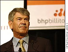 Former BHP Billiton CEO Brian Gilbertson quit suddenly last month over differences with the board