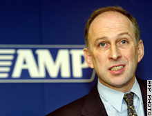 AMP chief Andrew Mohl said shareholders were right to feel disappointed after heavy losses in 2002
