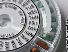 About 25 percent of women who use birth control choose oral contraceptives.