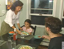 Joanne Vizziello has cut her food intake by a third in a study that looks at restricting calories to live longer.
