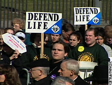Anti-abortion activists have been frustrated by the Supreme Court's majority opinion in Roe v. Wade.