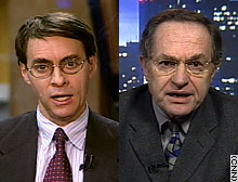Ken Roth and Alan Dershowitz