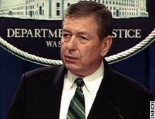 U.S. Attorney General John Ashcroft