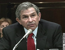 Deputy Defense Secretary Paul Wolfowitz
