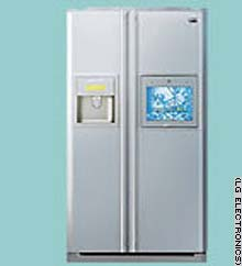 The Multi-Media refrigerator from LG Electronics