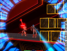Players must solve puzzles to bypass obstacles and access new areas.