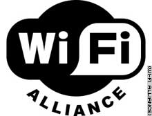 The Wi-Fi Alliance said businesses offering wireless access would post this logo.