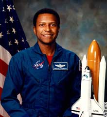 Michael Anderson was one of a handful of African American astronauts.