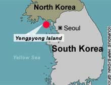 Yongpyong Island sits just south of the Northern Limit Line