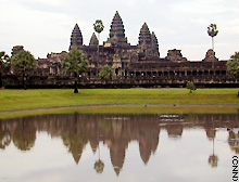 The massive Angkor Wat temple is just part of an ancient imperial city