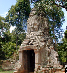 The ruins are a valuable tourist attraction for one of Asia's poorest countries