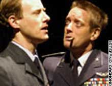 Satire on Bush and Blair has been drawing in the crowds, its director says
